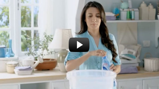 Mini Mathur in Comfort Fabric Conditioner TV Ad