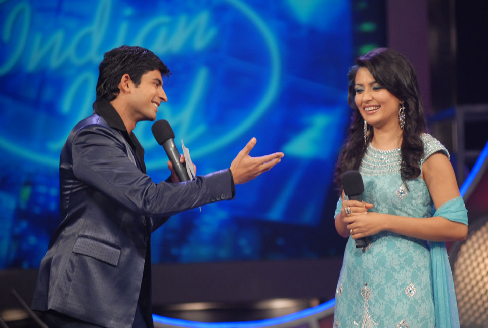 Indian-Idol-Season-3---The-host-with-the-Most