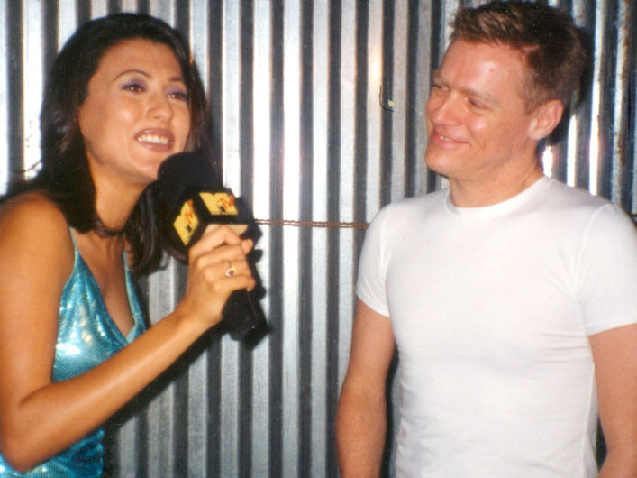 Mini Mathur with Bryan Adams
