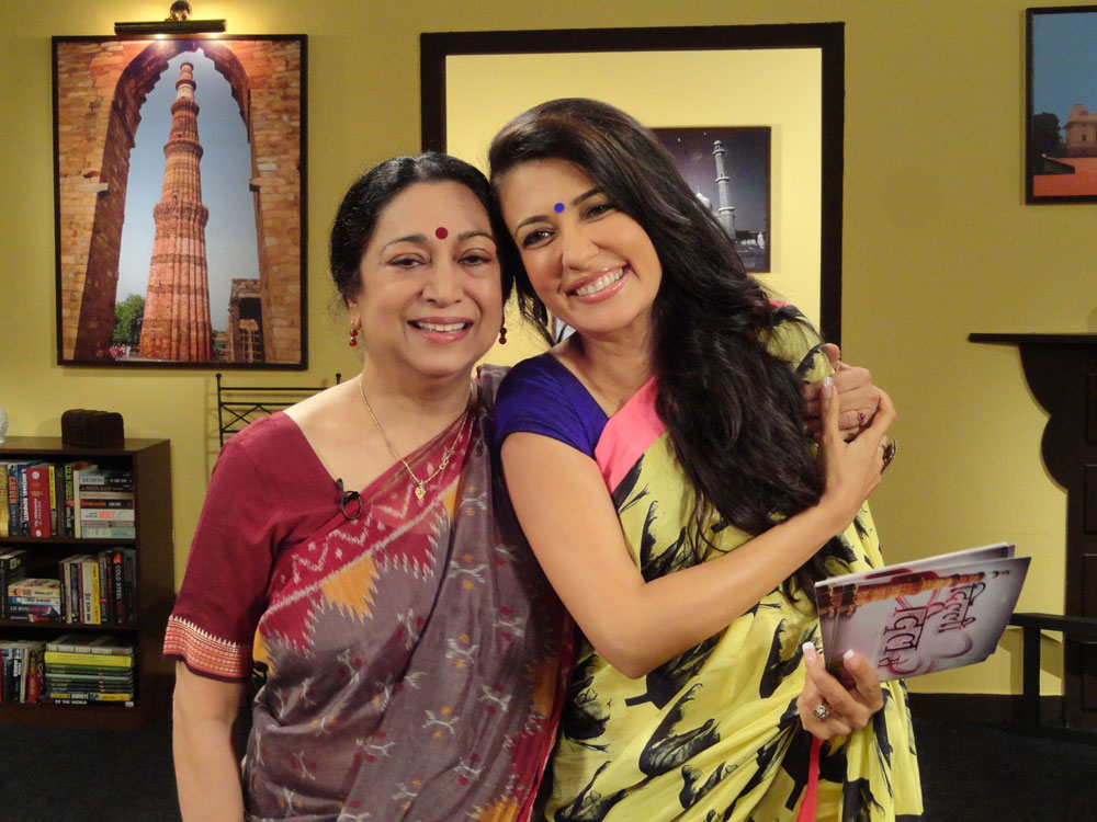 Mini Mathur with Meenakshi Gopinath