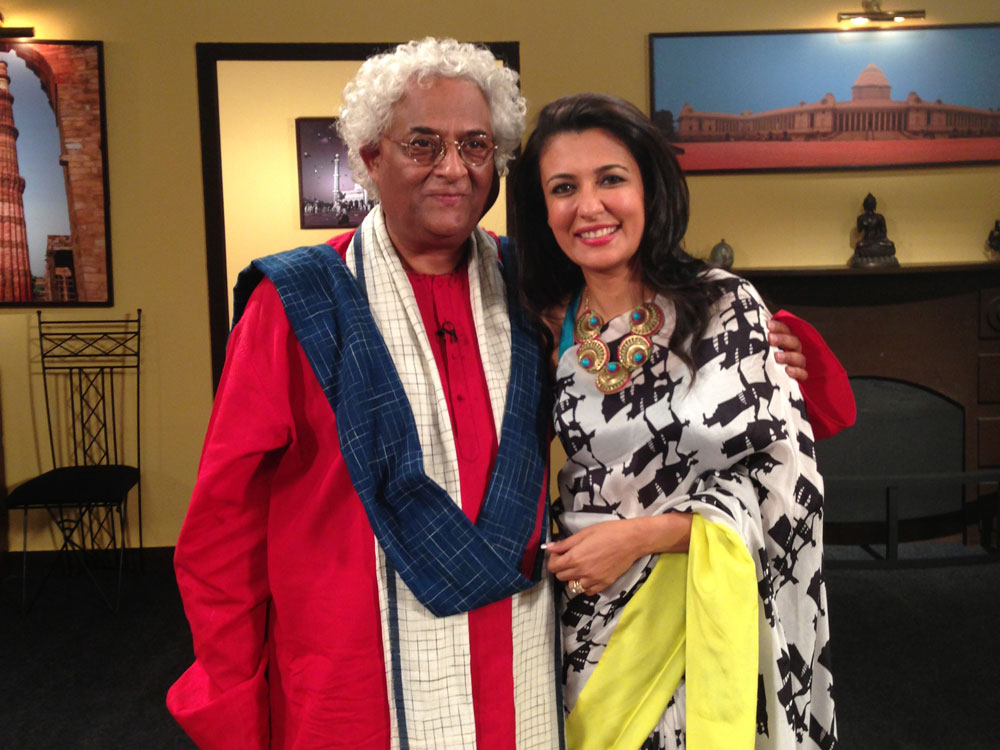 Mini Mathur with Rajeev Sethi