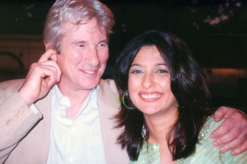 Mini Mathur with Richard Gere