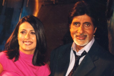 Mini with Amitabh Bachchan