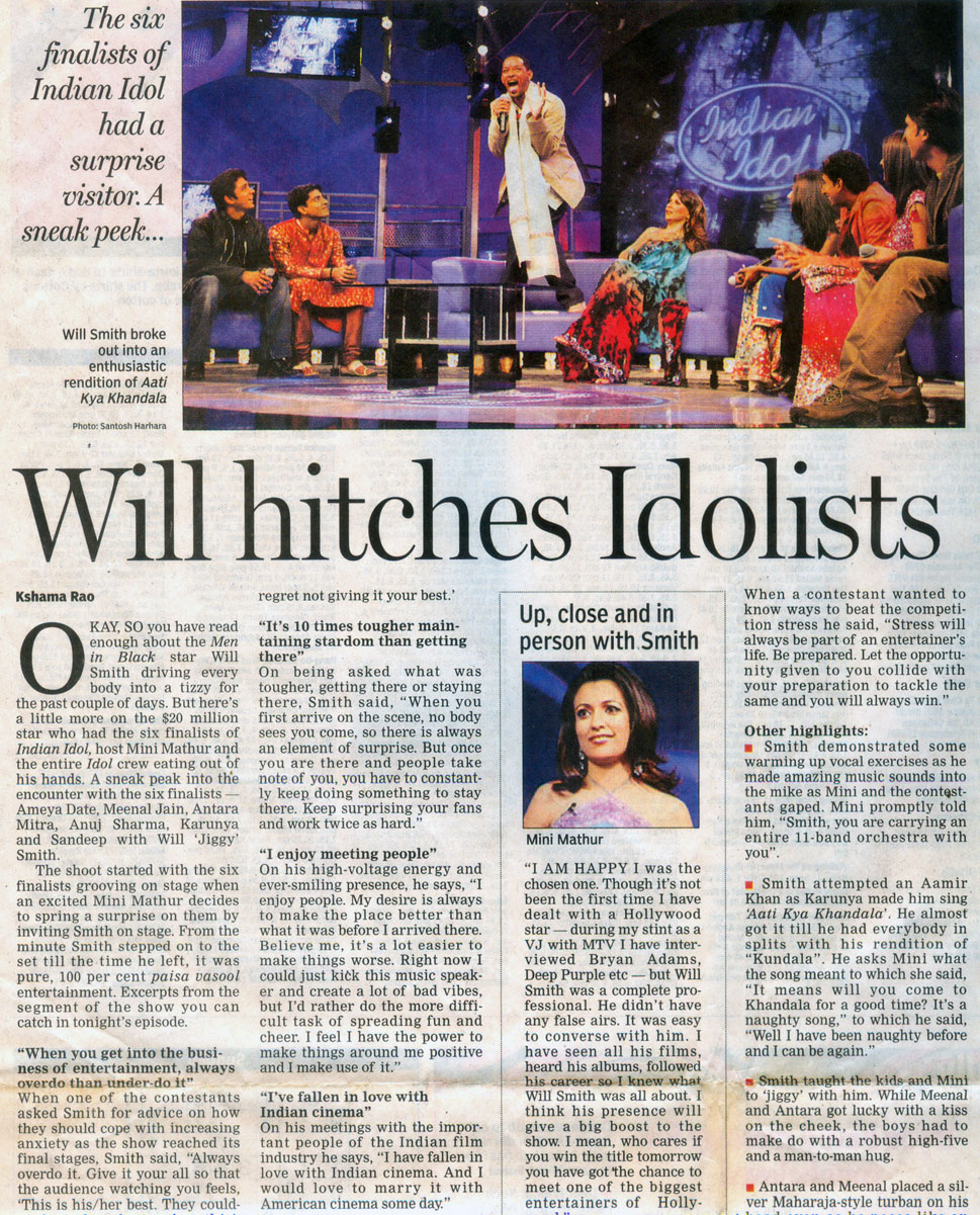 Will-hitches-Idolists-(Hindustan-times)